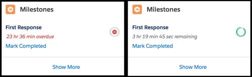 set up the milestone tracker