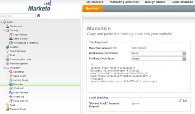 Configure SSO from Salesforce to Marketo