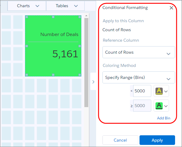 automatically highlight data with conditional formatting