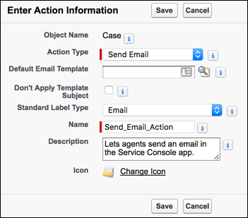 Create A Send Email Quick Action For Cases