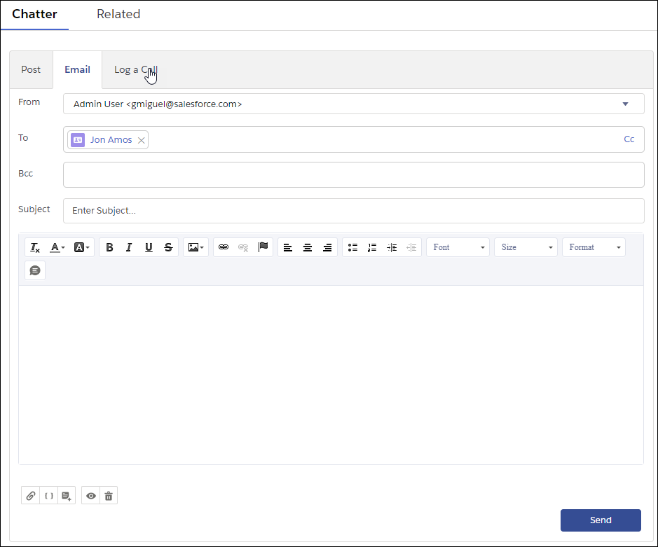 Email Customers In Lightning Experience