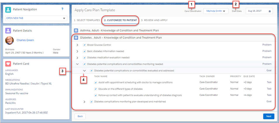 Customize The Care Plan Template