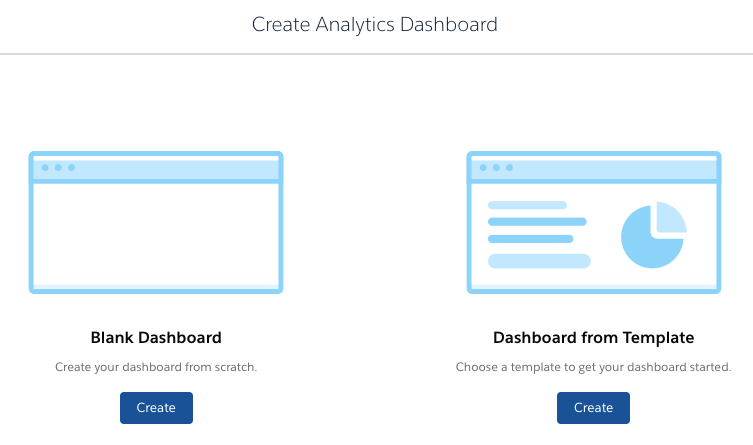 Create An Analytics Dashboard With A Template